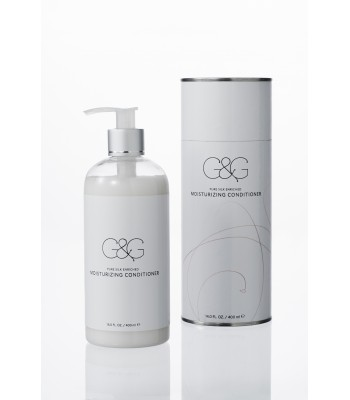 moisturizing conditioner pure silk enriched 14.0 FL. OZ. - 400 ml ℮