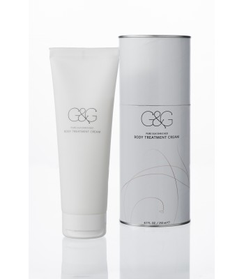 body treatment cream pure silk enriched 8.7 FL. OZ. - 250 ml ℮